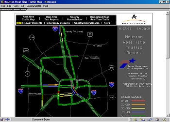 Houston Drive Times Texas Traffic Conditions In Houston Texas